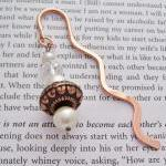 Beaded Bookmark Copper